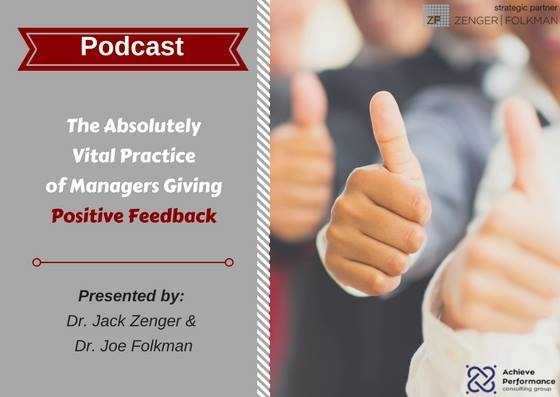 how to give positive feedback to manager