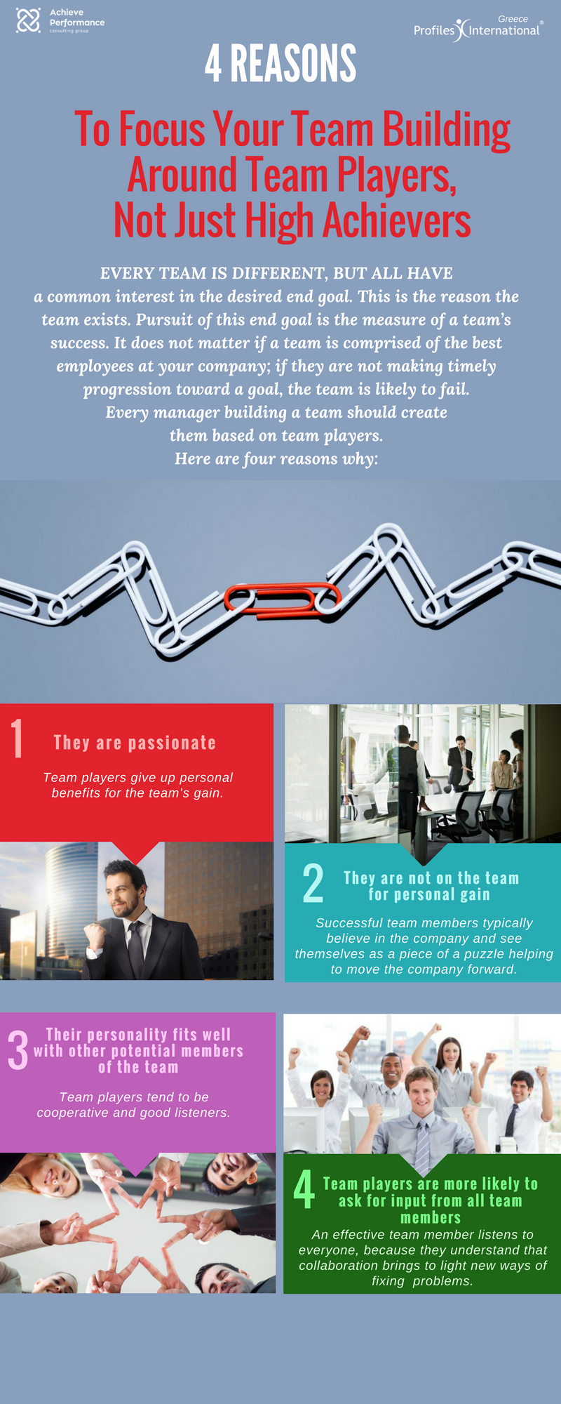 effectiveness of team building to achieve performance In this article and video, you can explore how to use team building activities and exercises as part of an ongoing strategy for developing a strong and effective team learn how to plan effective team-building activities with your people.