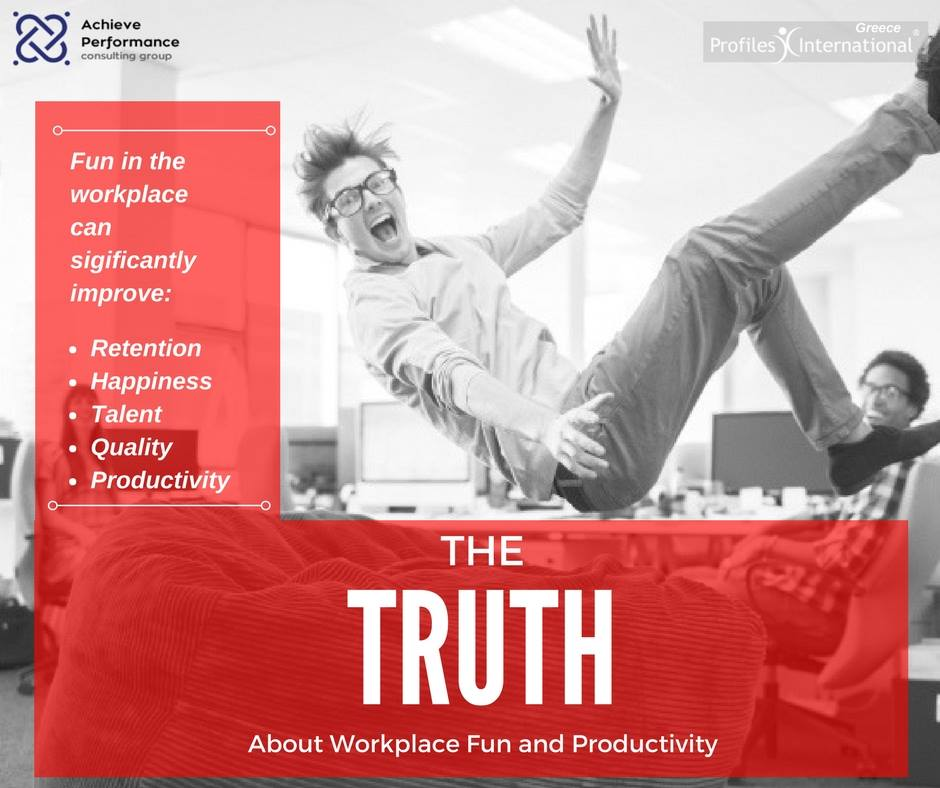 The Truth About Workplace Fun and Productivity