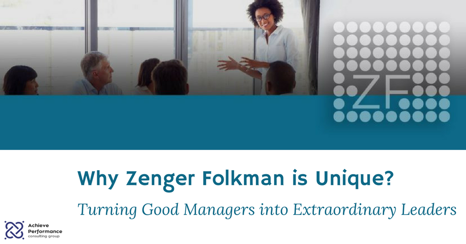 Why Zenger Folkman is Unique