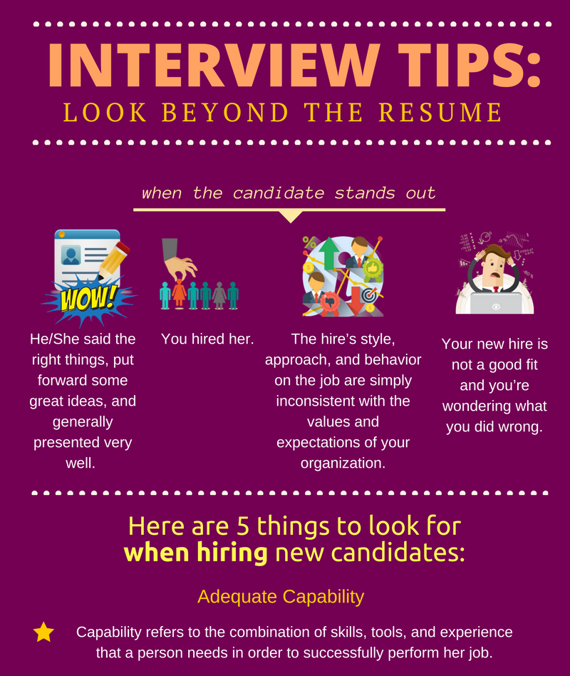 interview tips  look beyond the resume