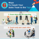 6 Ways To Coach Your Sales Team to the Top