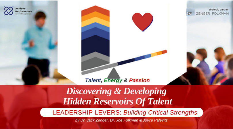 Discovering and Developing Hidden Reservoirs of Talent