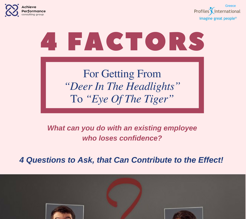 "4 Factors For Getting From ""Deer In The Headlights"" To ""Eye Of The Tiger"" info"