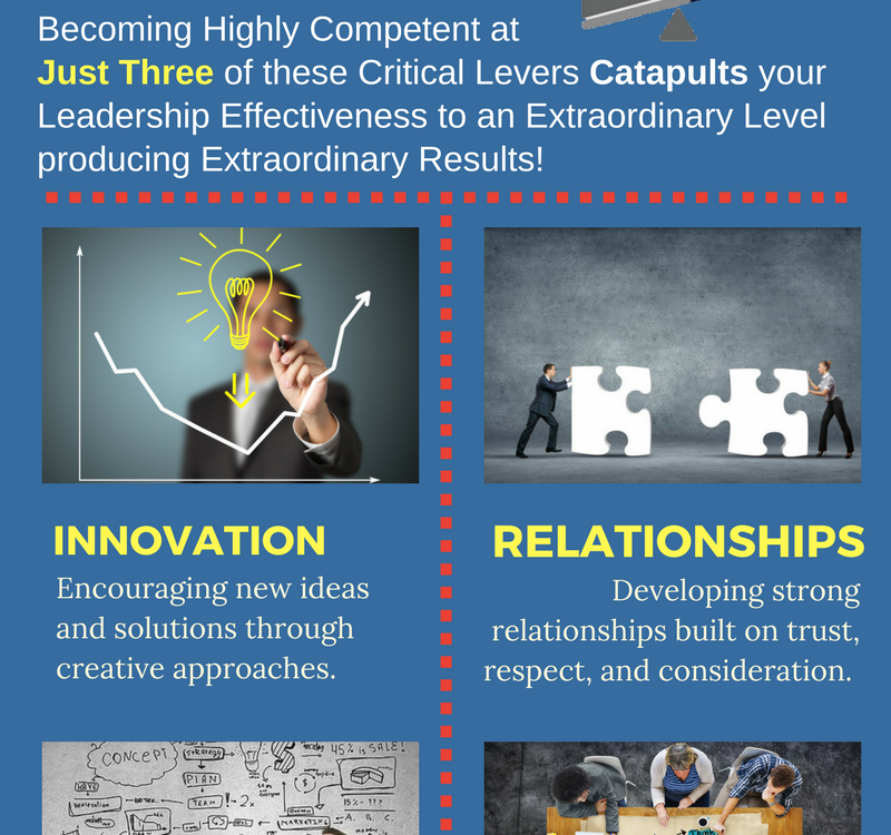 6 Leadership Levers - Infographic