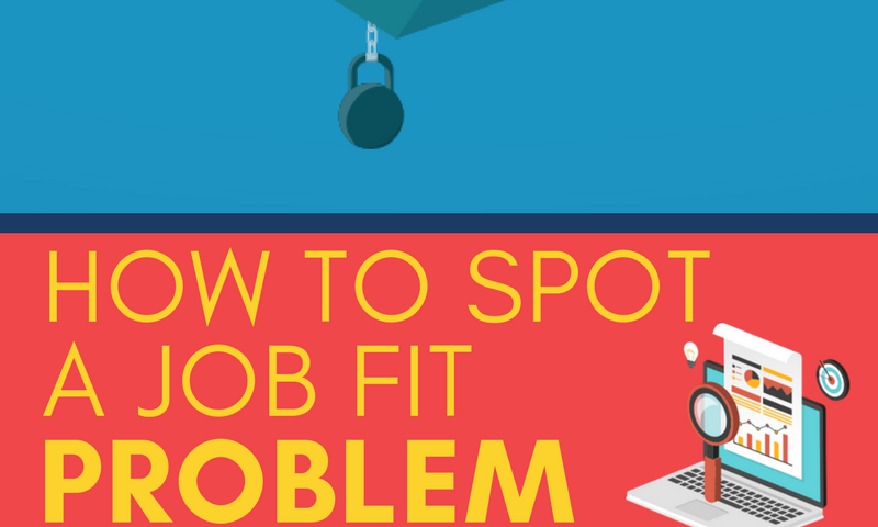 How to spot a job fit problem