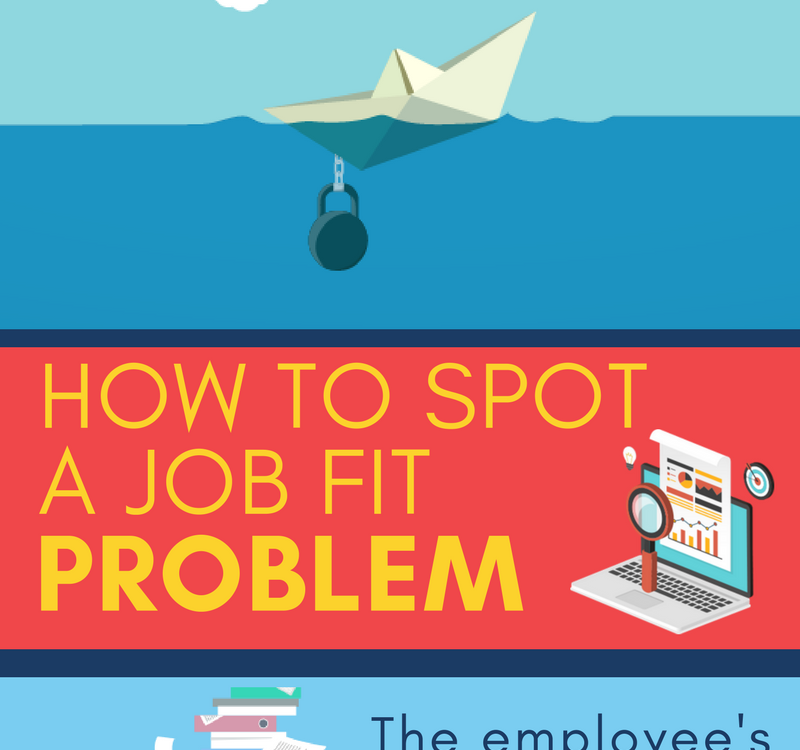 How to spot a job fit problem