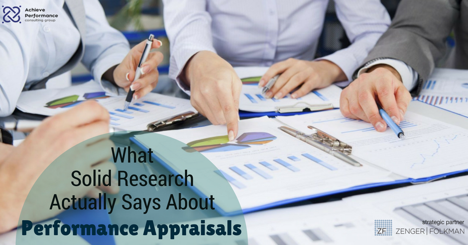What Solid Research Actually Says About Performance Appraisals